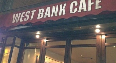Photo of American Restaurant West Bank Cafe at 407 W. 42nd St, New York, NY 10036, United States