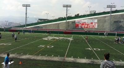Photo of Football Stadium Estadio José Ortega Martínez at Universidad Del Valle De Mexico, Naucalpan de Juárez 53220, Mexico