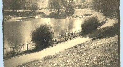 Photo of Lake Staw Rubinowy at Jasna, Szczecin, Poland
