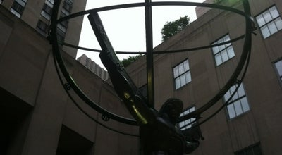 Photo of Outdoor Sculpture Atlas Sculpture at International Building at 630 5th Ave, New York, NY 10111, United States