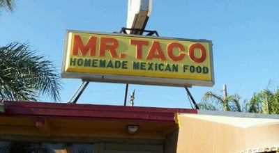 Photo of Mexican Restaurant Mr Taco at 304 W Mission Rd, San Marcos, CA 92069, United States