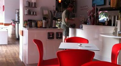 Photo of Cafe Oby Lee Coffee Roastery at 3000 Washington Blvd, Arlington, VA 22201, United States
