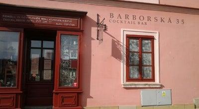 Photo of Cocktail Bar Barborská Cocktail Bar at Barborská 35, Kutná Hora 284 01, Czech Republic