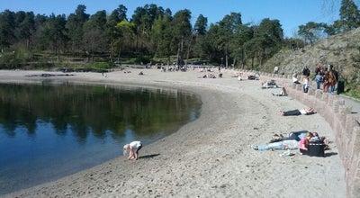 Photo of Beach Paradisbukta at Bygdøy, Oslo, Norway