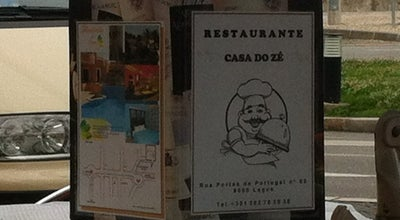 Photo of Seafood Restaurant Casa de Pasto do Zé at Portugal