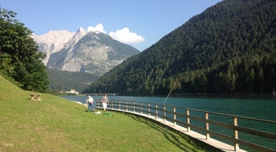 Photo of Lake Lago di Auronzo di Cadore at Auronzo di Cadore, Italy