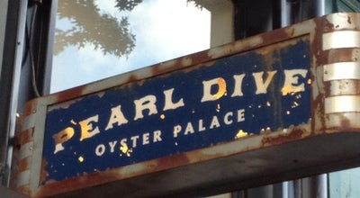 Photo of Seafood Restaurant Pearl Dive Oyster Palace at 1612 14th St Nw, Washington, DC 20009, United States