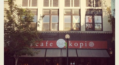 Photo of Coffee Shop Café Kopi at 109 N Walnut St, Champaign, IL 61820, United States