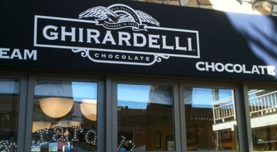 Photo of Chocolate Shop Ghirardelli Ice Cream & Chocolate Shop at 660 Cannery Row, Monterey, CA 93940, United States