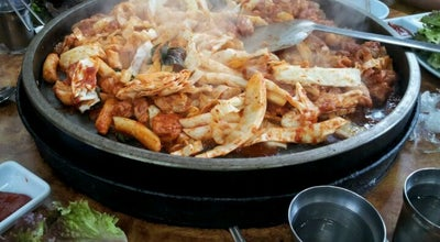 Photo of Korean Restaurant 명동우미닭갈비 at 영서로 2345, 춘천, South Korea