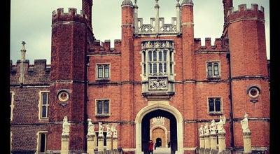 Photo of Palace Hampton Court Palace at Hampton Court Rd, Hampton KT8 9AU, United Kingdom