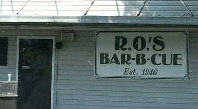 Photo of BBQ Joint R.O.'s Bar-B-Q at 1318 Gaston Ave, Gastonia, NC 28052, United States