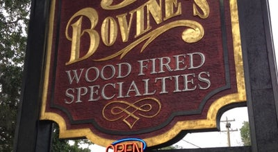 Photo of American Restaurant Bovine's Wood Fired Restaurant at 3979 Highway 17 Business, Murrells Inlet, SC 29576, United States