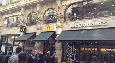 Photo of Fast Food Restaurant McDonald's at 21-23 Rue Sainte Catherine, Bordeaux 33000, France