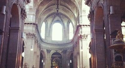 Photo of Church Église Saint-Sulpice at Place Saint-sulpice, Paris 75006, France
