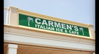 Photo of Ice Cream Shop Carmen's Café at 1115 Nelson St, Rockville, MD 20850, United States