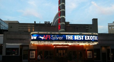 Photo of Indie Movie Theater AFI Silver Theatre and Cultural Center at 8633 Colesville Rd, Silver Spring, MD 20910, United States