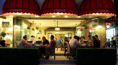 Photo of Cafe Cafetelli at Fevzipaşa Cd. Sanayi Ve Ticaret Odası Altı No:4, ERZİNCAN 24060, Turkey