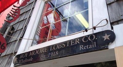 Photo of Seafood Restaurant Roy Moore Lobster Company at 39 Bearskin Nck, Rockport, MA 01966, United States