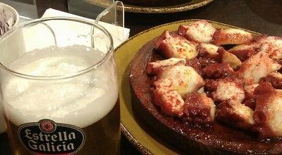 Photo of Restaurant Pulpeira de Melide at Praza De España, A Coruña 15003, Spain