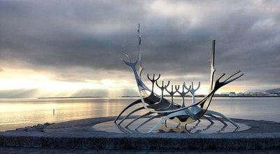 Photo of Monument / Landmark Solfar (Sun Voyager) Sculpture at Saebraut, Reykjavik, Iceland