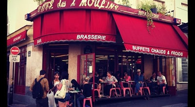 Photo of Bistro Café des Deux Moulins at 15 Rue Lepic, Paris 75018, France
