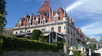 Photo of Hotel Bar Le Chateau d'Ouchy at Place Du Port 2, Lausanne 1006, Switzerland