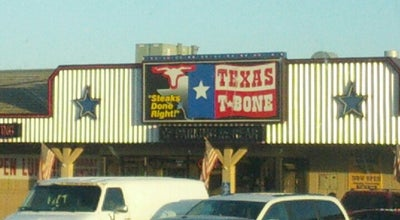 Photo of Steakhouse Texas T-Bone at 1201 S Locust St, Grand Island, NE 68801, United States