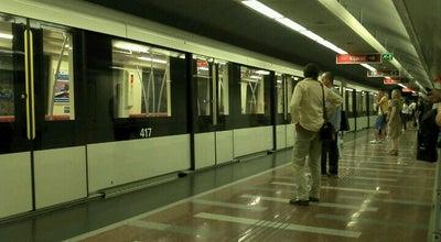 Photo of Subway Keleti pályaudvar (M2, M4) at Baross Tér, Budapest 1087, Hungary
