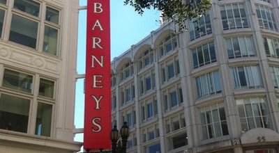 Photo of Department Store Barney's New York at 77 O'farrell St, San Francisco, CA 94102, United States