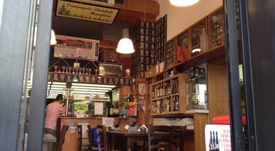 Photo of Italian Restaurant Bottega Del Vino La Coloniale at Corso Genova 19, Milan 20123, Italy