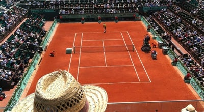 Photo of Tennis Court Court Philippe Chatrier at Stade Roland Garros, Paris 75016, France