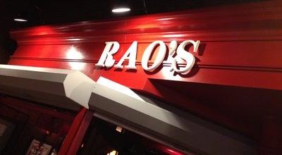 Photo of Italian Restaurant Rao's at 3570 Las Vegas Blvd S, Las Vegas, NV 89109, United States