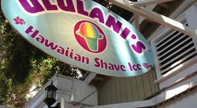Photo of Dessert Shop Ululani's Hawaiian Shave Ice at 819, Lahaina, HI 96761, United States