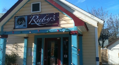 Photo of American Restaurant Rubys at 163 N Pioneer St, Ashland, OR 97520, United States