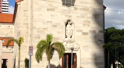 Photo of Church St. Jude's Catholic Church at 1501 Brickell Ave, Miami, FL 33129, United States