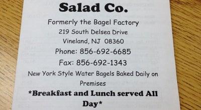 Photo of Bagel Shop New York Sandwich & Salad Co. at 219 S Delsea Dr, Vineland, NJ 08360, United States