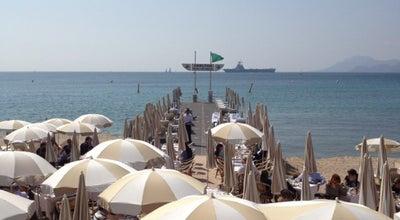 Photo of Beach Plage du Carlton at 58 Boulevard De La Croisette, Cannes 06400, France