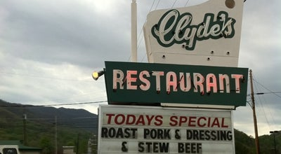 Photo of American Restaurant Clyde's Restaurant at 2107 S Main St, Waynesville, NC 28786, United States
