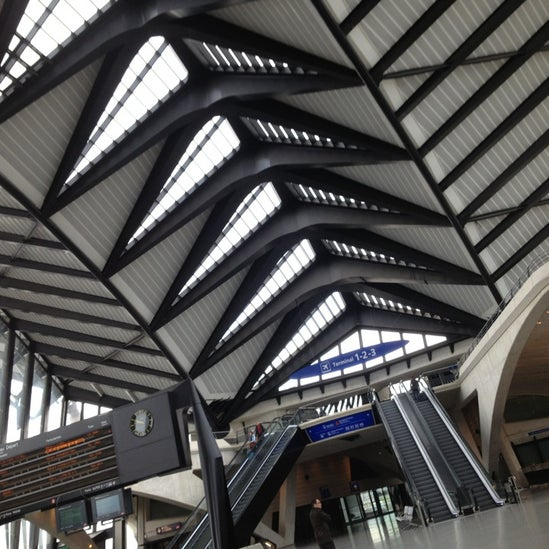 Gare SNCF de Lyon-Saint-Exupéry TGV