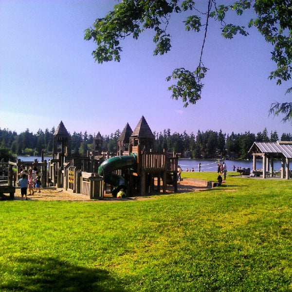Photo taken at Steel Lake Park by Katoya P. on 7/7/2012