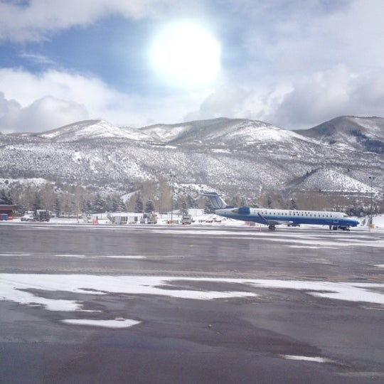 Photo taken at Aspen/Pitkin County Airport (ASE) by Jamie F on 3/2/2012