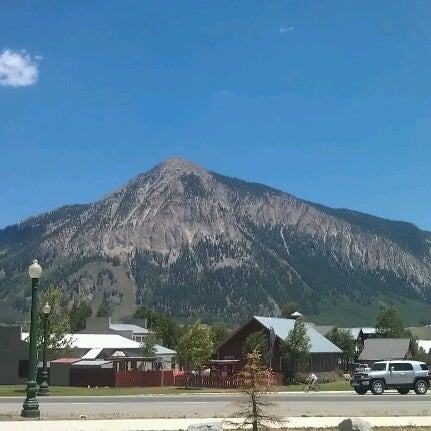 Photo taken at Crested Butte, CO by Bobbi Jean H. on 6/23/2012