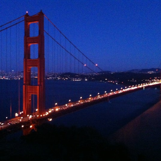 Photo taken at Vista Point by clogozm on 8/27/2012