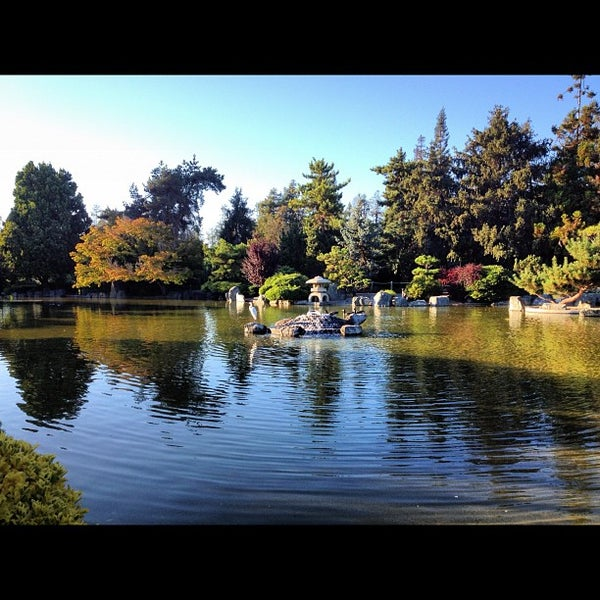 Photo taken at Japanese Friendship Garden by Stanislaw Y. on 9/2/2012