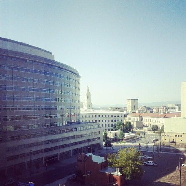 Photo taken at Sheraton Denver Downtown Hotel by Michael H. on 8/18/2012