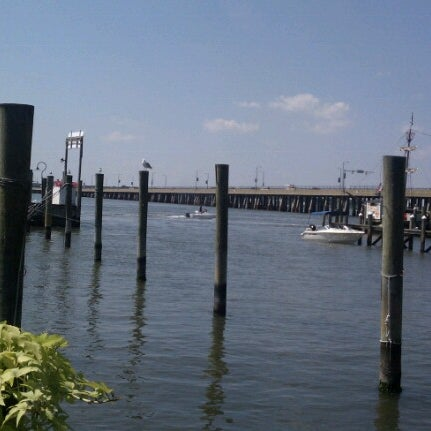 Photo taken at Marina Deck Resturant by Christine on 8/23/2012