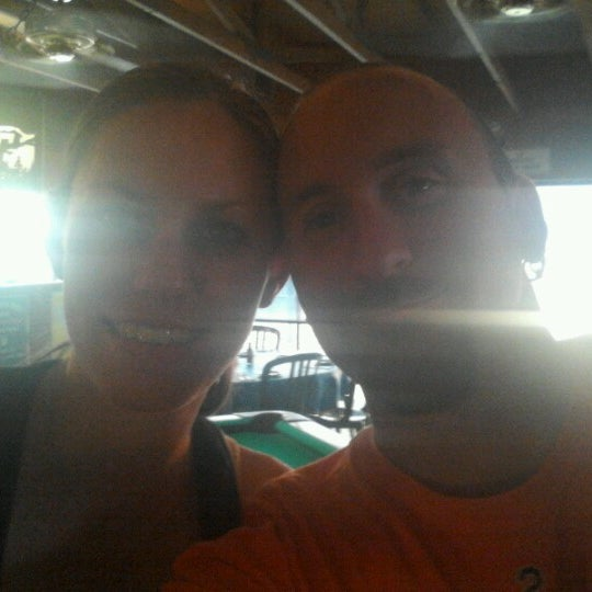 Photo taken at Marina Deck Resturant by Chris H. on 6/30/2012