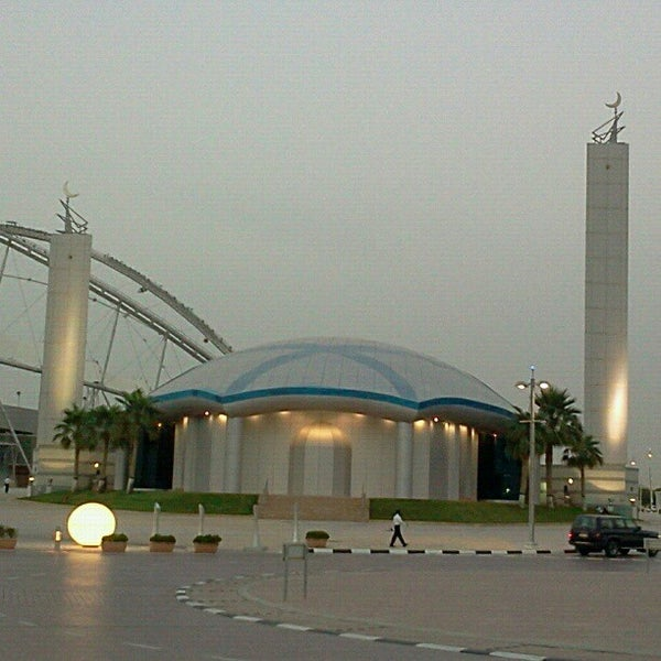 Photo taken at Aspire Park | حديقة اسباير by mohammed l. on 5/17/2012
