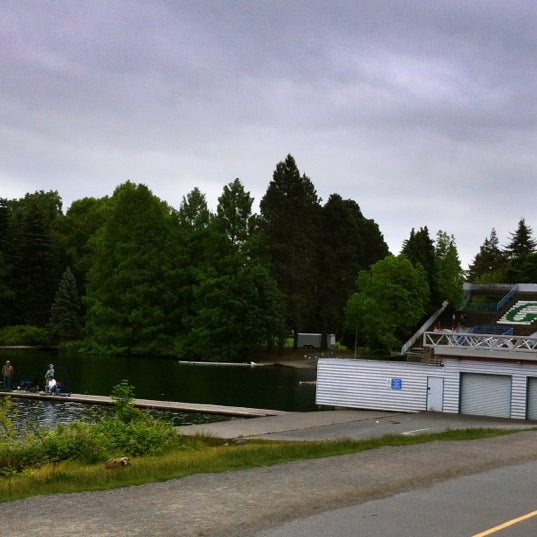 Photo taken at Green Lake Boathouse by Erik B. on 6/14/2012
